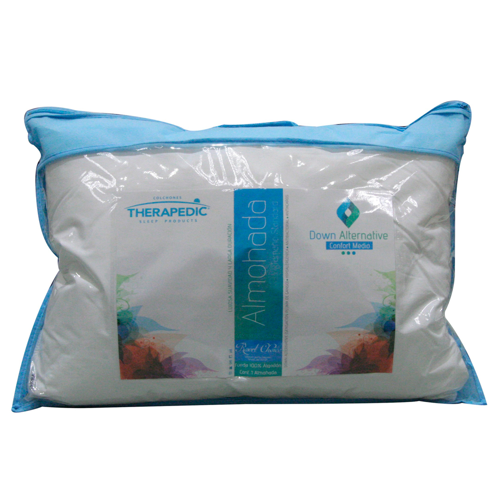 Almohada-Therapedic-Down-Medio-blanco-colchonera